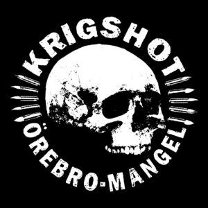 KRIGSHOT – Orebro Mangel – backpatch