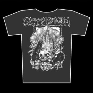 SKITSYSTEM – Pestens Tid – girlie graphite t-shirt