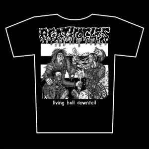 AGATHOCLES – Living Hell Downfall – t-shirt