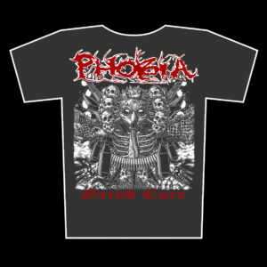 PHOBIA – Grind Core – girlie graphite t-shirt