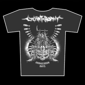 LYCANTHROPHY – Armageddon Days – grafit tričko