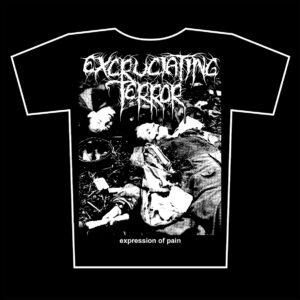EXCRUCIATING TERROR – Expression of Pain – tričko
