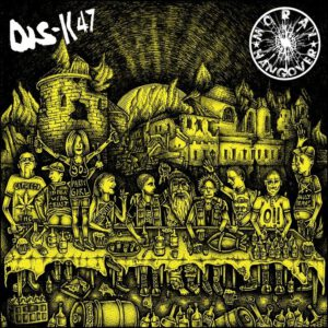MORAL HANGOVER / DIS-K47 – split LP