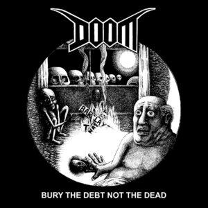 DOOM – Bury the Debt Not the Dead – zádová nášivka