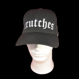 CRUTCHES – embroidered logo – snapback