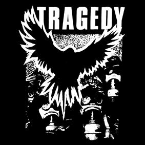 TRAGEDY – vrána – nášivka