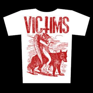 VICTIMS – Owl – bílé tričko