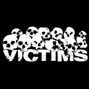 VICTIMS – skulls – patch