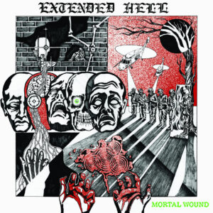 EXTENDED HELL – Mortal Wound – LP