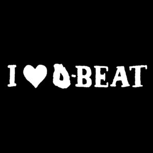 I LOVE D-BEAT – patch