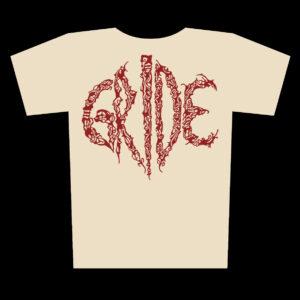 GRIDE – logo – natural tričko