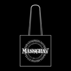 MASSGRAV – distressed logo – taška