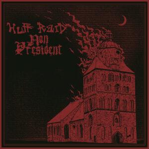 HUFF RAID / NON PRESIDENT – split LP