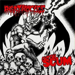 AGATHOCLES / CAPITAL SCUM – split LP