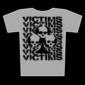 VICTIMS – logos – zinek tričko