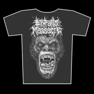 ENTRAILS MASSACRE – mad ape – grafit tričko