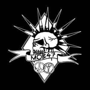 MOB 47 – skull logo – patch