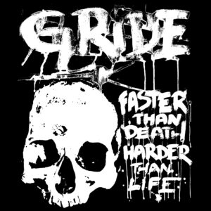 GRIDE – Faster than Death, Harded than Life – backpatch