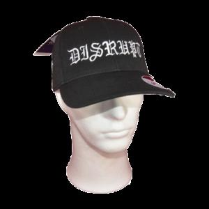 DISRUPT – logo výšivka