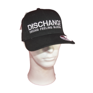 DISCHANGE – embroidered logo – cap