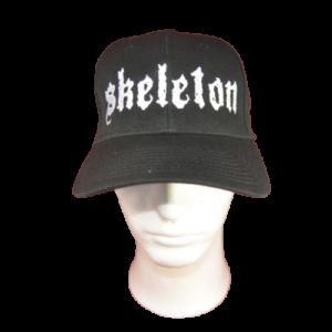 SKELETON – logo výšivka – čepice