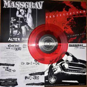IS 152 MASSGRAV / PROTESTSTORM – split EP (limitovaná edice)