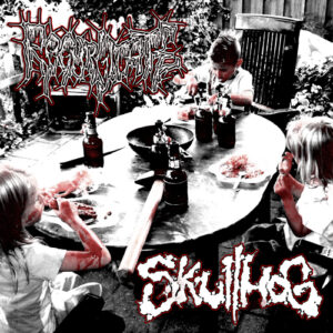 REGURGITATE / SKULLHOG – split EP