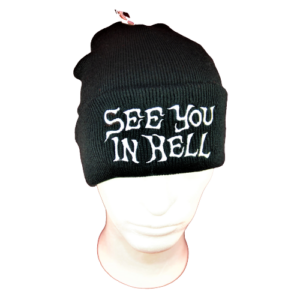 SEE YOU IN HELL – ohrnovací kulich