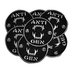 ANTIGEN – logo – embroidered patch