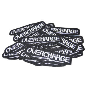 OVERCHARGE – logo – embroidered patch