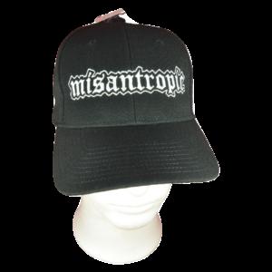 MISANTROPIC – logo výšivka – čepice