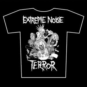 EXTREME NOISE TERROR – s/t – tričko