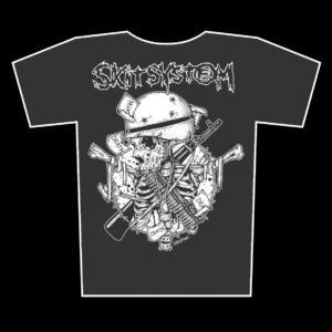 SKITSYSTEM – Death – girlie graphite t-shirt