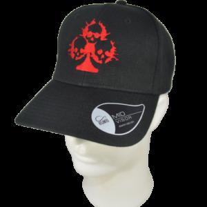 VICTIMS – embroidered skull logo – cap flexfit original