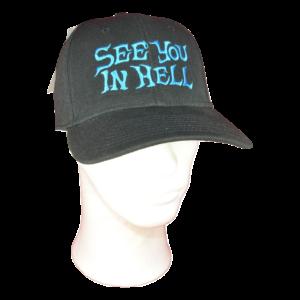 SEE YOU IN HELL – logo výšivka – regular