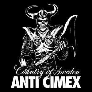 ANTI CIMEX – Country of Sweden – zádová nášivka