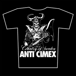 ANTI CIMEX – Country of Sweden – t-shirt