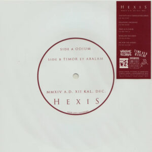 HEXIS – MMXIV A.D. XII KAL. DEC. – flexi EP