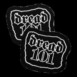 DREAD 101 – logo – vyšívaná nášivka
