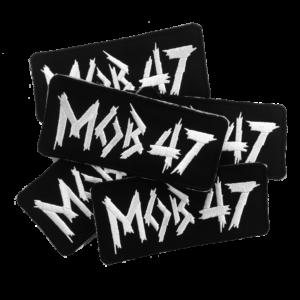 MOB 47 – logo – vyšívaná nášivka