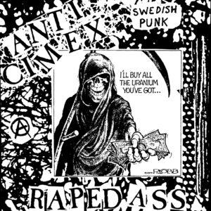 ANTI CIMEX – Raped Ass – zádová nášivka