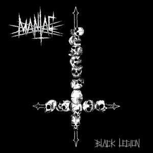 MANIAC – Black Legion – LP