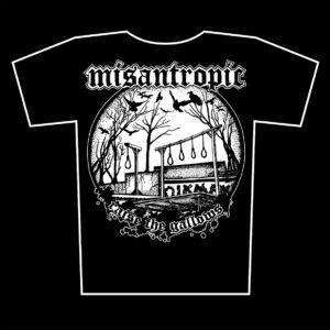 MISANTROPIC – Raise The Gallows – tričko