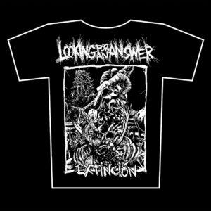 LOOKING FOR AN ANSWER – Extinción – t-shirt