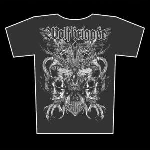 WOLFBRIGADE – Seldon Hunt – girlie graphite t-shirt