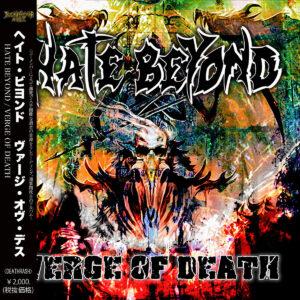 HATE BEYOND – Verge of Death – CD