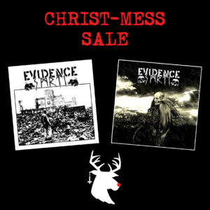 Christ-Mess Sale – EVIDENCE SMRTI 2x LP
