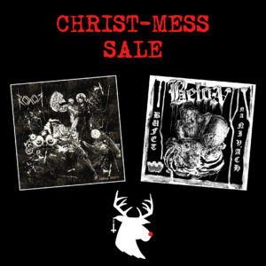 Christ-Mess Sale – ROXOR 2x LP