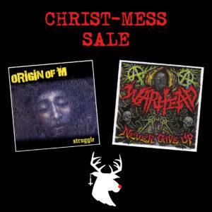 Christ-Mess Sale – ORIGIN OF M + WARHEAD – LP