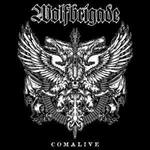 WOLFBRIGADE – Comalive – zádová nášivka